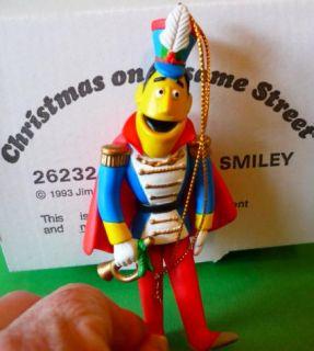1993 Guy Smiley Jim Henson Grolier Christmas on Sesame Street Tree