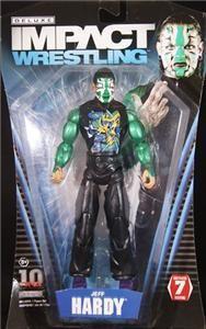 Jeff Hardy Brand New TNA Jakks Series 7 Action Figure Toy