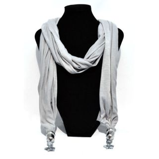 1pcs synthetic Scarf Womens Jewelry Necklaces star pendants Shawl Wrap