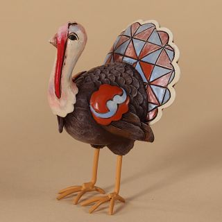 Jim Shore Heartwood Creek 2012 Thanksgiving Mini Turkey Fall Figurine