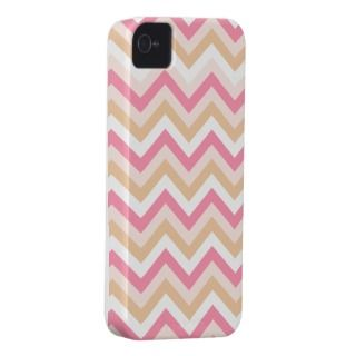 Sweet Pink Zig Zag Pattern iPhone Case Case Mate iPhone 4 Cases
