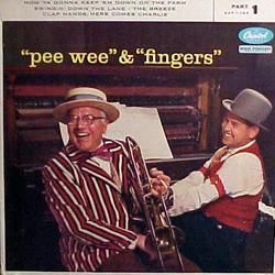 Pee Wee Hunt Joe Fingers Carr EP Capitol 1 783