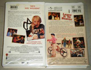 LEAVE IT TO BEAVER & DENNIS THE MENACE VHS SET   Walter Matthau, Chris