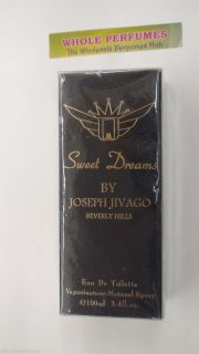 Sweet Dreams by Jivago for Men 3 3 3 4 oz 100 ml Eau de Toilette EDT