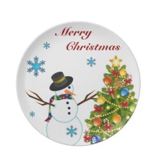 Plate Merry Christmas Plate