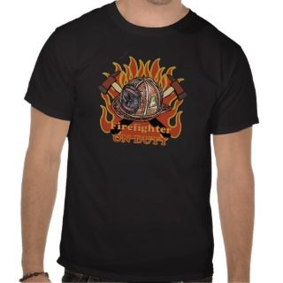Firefighter Duty Tshirt