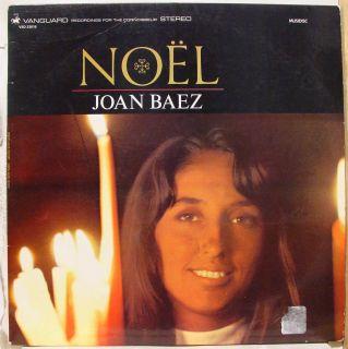 Joan Baez Noel LP VG VSD 23018 Vinyl France 1966 Record