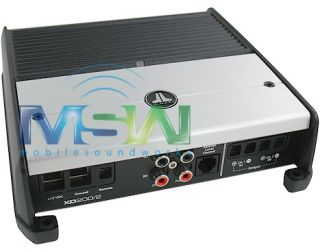 JL Audio® XD 200 2 200 Watt RMS Class D 2 Channel Car Amp Amplifier