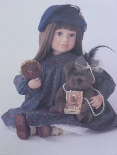 Boyds YesterdaysChild Jocelyn 16 Doll 4945LE