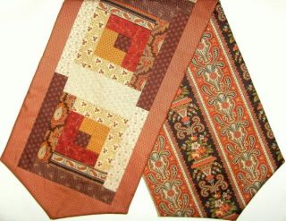 patchwork table runner kit featuring jo morton for andover fabrics