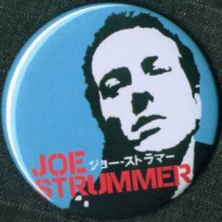Joe Strummer 1 25 Pin Button Badge Magnet Punk Clash