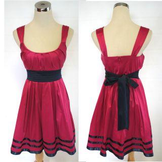 Jodi Kristopher Magenta Evening Prom Party Dress 7