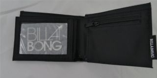 Billabong Grey Influence Parko Wallet Joel Parkinson Polyurethan Bi