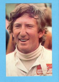 Jochen Rindt Formula One World Champion Driver 1970 Posthumous