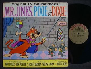 Mr Jinks Pixie Dixie 1961 Colpix LP VG