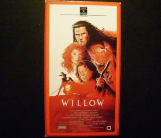 Willow VHS 1988 Val Kilmer Joanne Whalley Warwich Davis