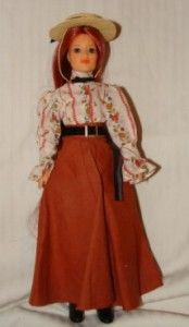 Ideal Jody Country Girl Doll with Hat Shoes 1975 Very Nice Doll Crisp