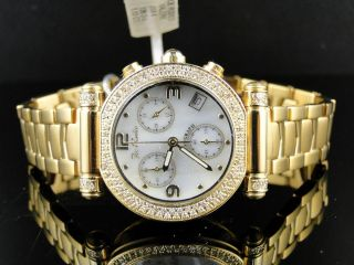 Ladies Joe Rodeo JoJo Gold Diamond Watch 1 10 Ct JVA4