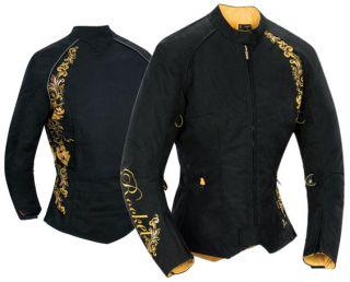 Joe Rocket Womens Heartbreaker 2 0 Jacket Gold XXXL