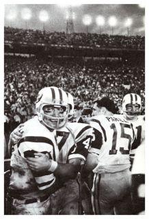 Joe Namath Poster New York Jets Football Quarterback