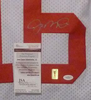 Joe Montana Autographed Signed San Francisco 49ers White Size XL