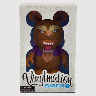 Disney Vinylmation 9 Animation Series 1 Figure Beast