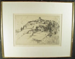 John Taylor Arms Original Hand Signed Etching Architecture St Paul