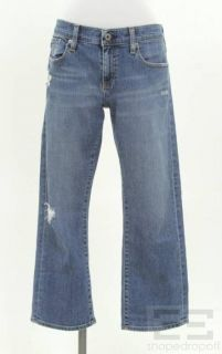 Joes Jeans AG Adriano Goldschmied 2pc Bootcut Cropped Jeans Set Sz 30