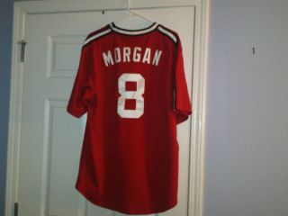 Joe Morgan MLB Cincinnati Red Phillies Jersey Sz Large NWT nike votto