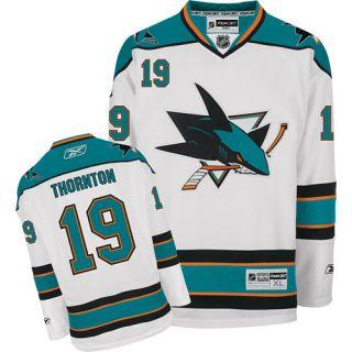 Reebok San Jose Sharks Joe Thornton Premier Road Jersey Hockey NHL XL