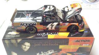 Diecast Ward Burton 47 Chevy Silverado Truck Joe Nichols 1 24