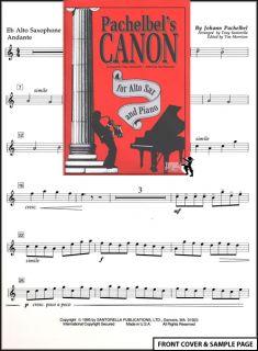 Hamcor   Mythical God of Sheet Music   Pachelbels Canon Alto Sax