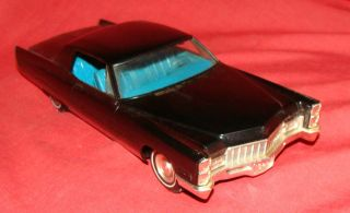 1968 JOHAN CADILLAC COUPE DE VILLE CAR DEALER PROMO 1 25 PLASTIC RESIN