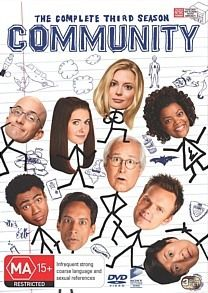 Community The Complete Season 3 DVD 2012 3 Disc Set