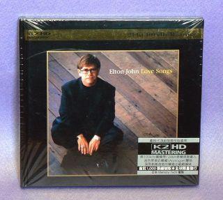Elton John Love Songs Limited Edition K2 HD Mastering Japan CD New