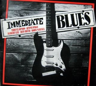 Blues LP 1980 Eric Clapton Jimmy Page Albert Lee Jeff Beck John Mayall