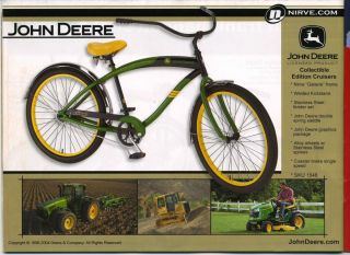 NEW John Deere 26 NOT KIDS NIB Nirve Beach Cruiser Kustom Bike Retro