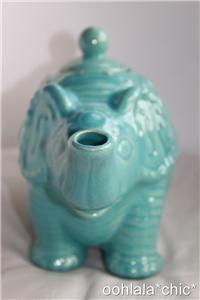 Calypso St Barth for Target Elephant Teapot Blue