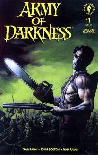 Army of Darkness 1 Sam Raimi John Bolton 1992 Dark Horse Comics