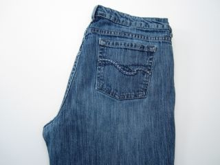 St. Johns Bay Womens Petite Size 10P Inseam 29 Blue Jeans Boot Cut 1