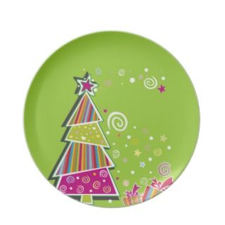 Christmas Plate   choose your color