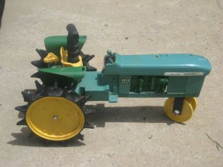 John Deere 4010 Diesel Tractor Traveling Sprinkler Metal For Parts Or