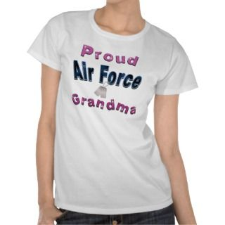 Proud Air Force Grandma Shirts