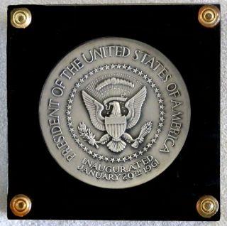 1961 Silver John F Kennedy Medallic Art Company President Inaugural Medal 5 5 Oz