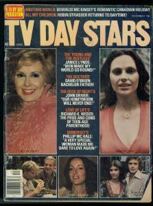 TV Day Stars Soap Opera Magazine Janice Lynde 1976 F