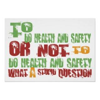 To Do Health and Safety Poster