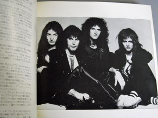 Queen Japan Concert Tour Book 1976 Freddie Mercury Brian May Roger Mega RARE