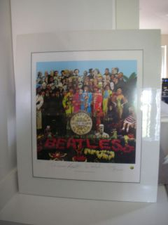 """Beatles """"Sgt Pepper"""" Limited Edition Lithograph"""