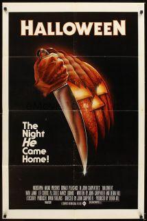 Halloween Original Movie Poster 1st 1978 John Carpenter Debra Hill 27x41 Horror