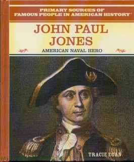 New John Paul Jones Biography HC 1st American Revolution Naval Hero Homeschool